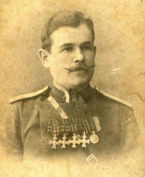 Пётр Шагалов, 28 Восточно - Сибирский стрелковый полк, старший унтер офицер, полный кавалер - копия