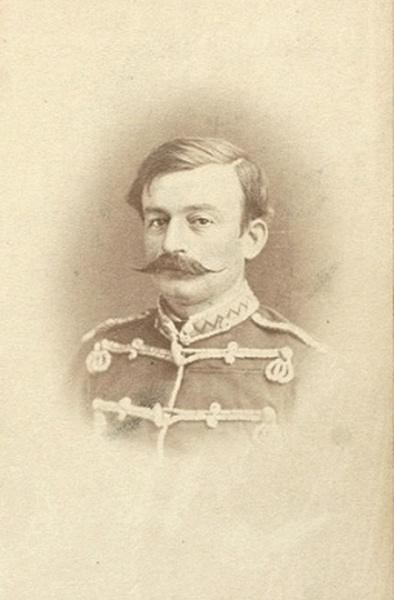 гусарского штаб-офицера периода Русско-Турецкой войны 1877 - 1878