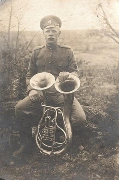 музыканта периода Первой мировой войны