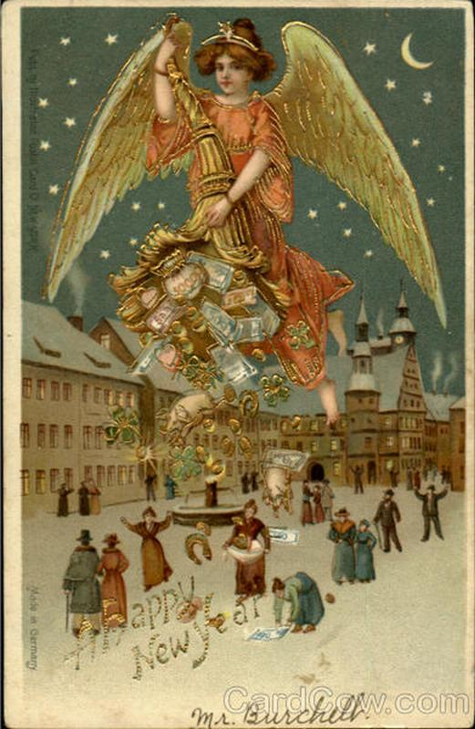New-year-card-vintage-angel-dropping-money1