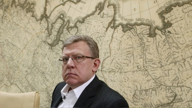 "Russia's former finance minister Alexei Kudrin attends a presentation of the report ""The changes in the attitudes of Russians amid the deteriorating economic environment"", in Moscow, December 24, 2014. REUTERS/Sergei Karpukhin (RUSSIA - Tags: BUSINESS POLITICS) - RTR4J60H"